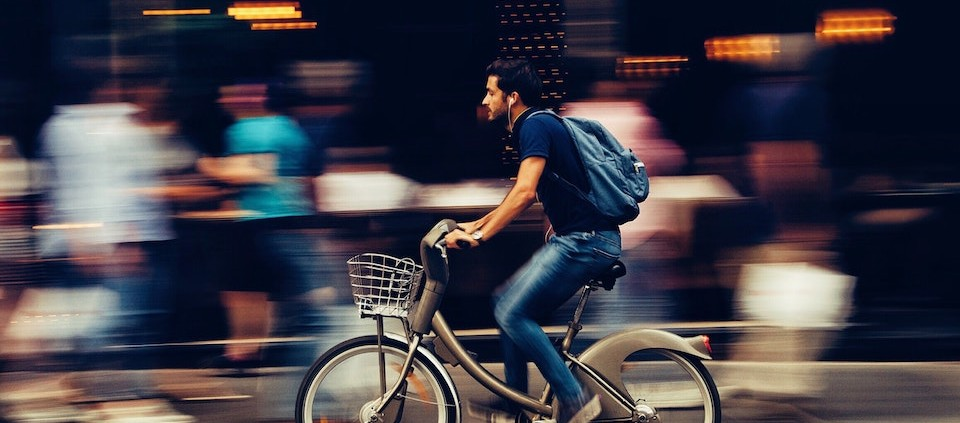 andare a lavoro in bici